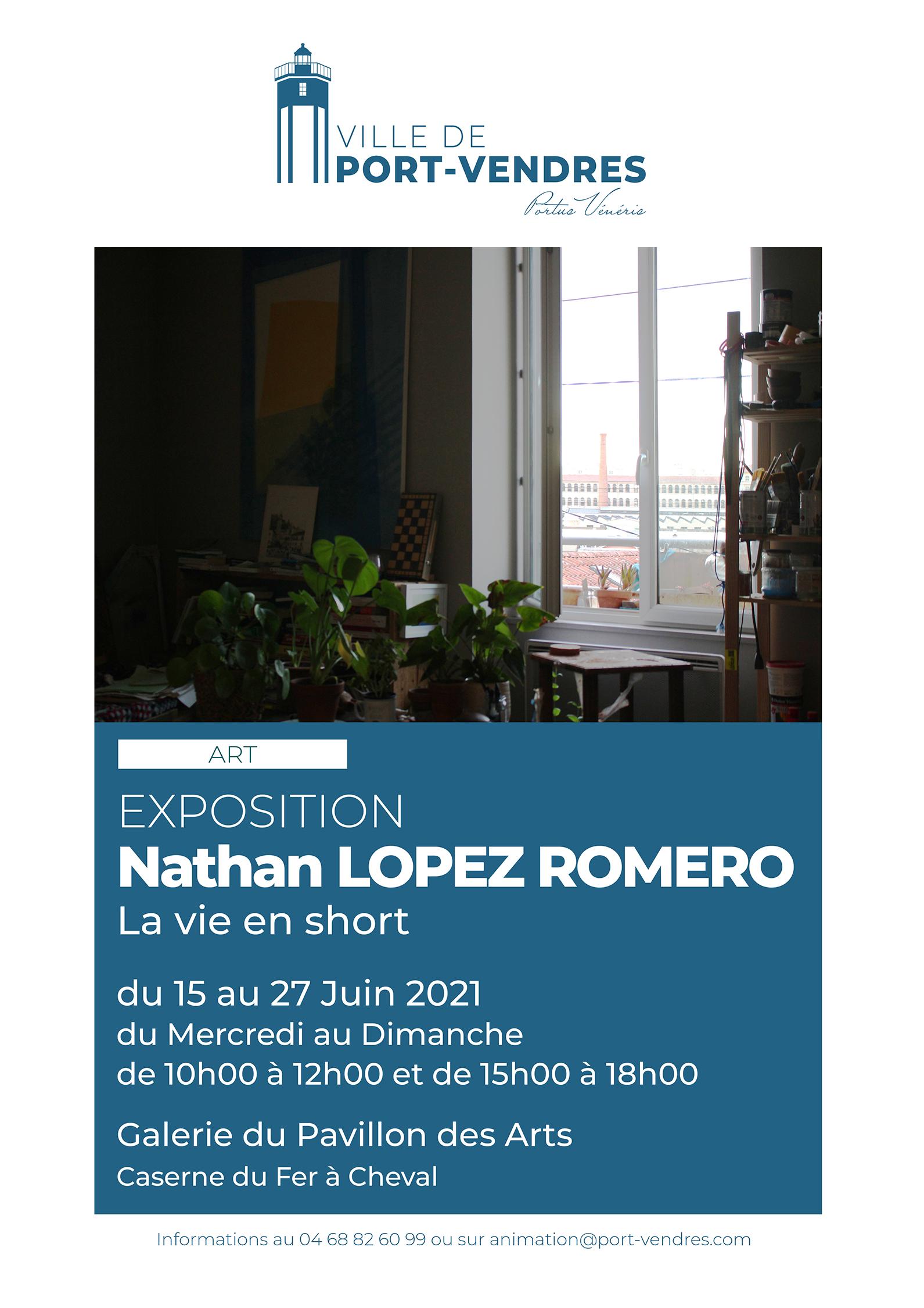 Exposition Nathan Lopez Romero Copie