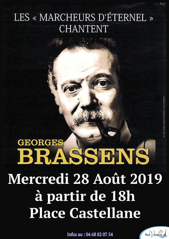 Spectacle Georges BRASSENS