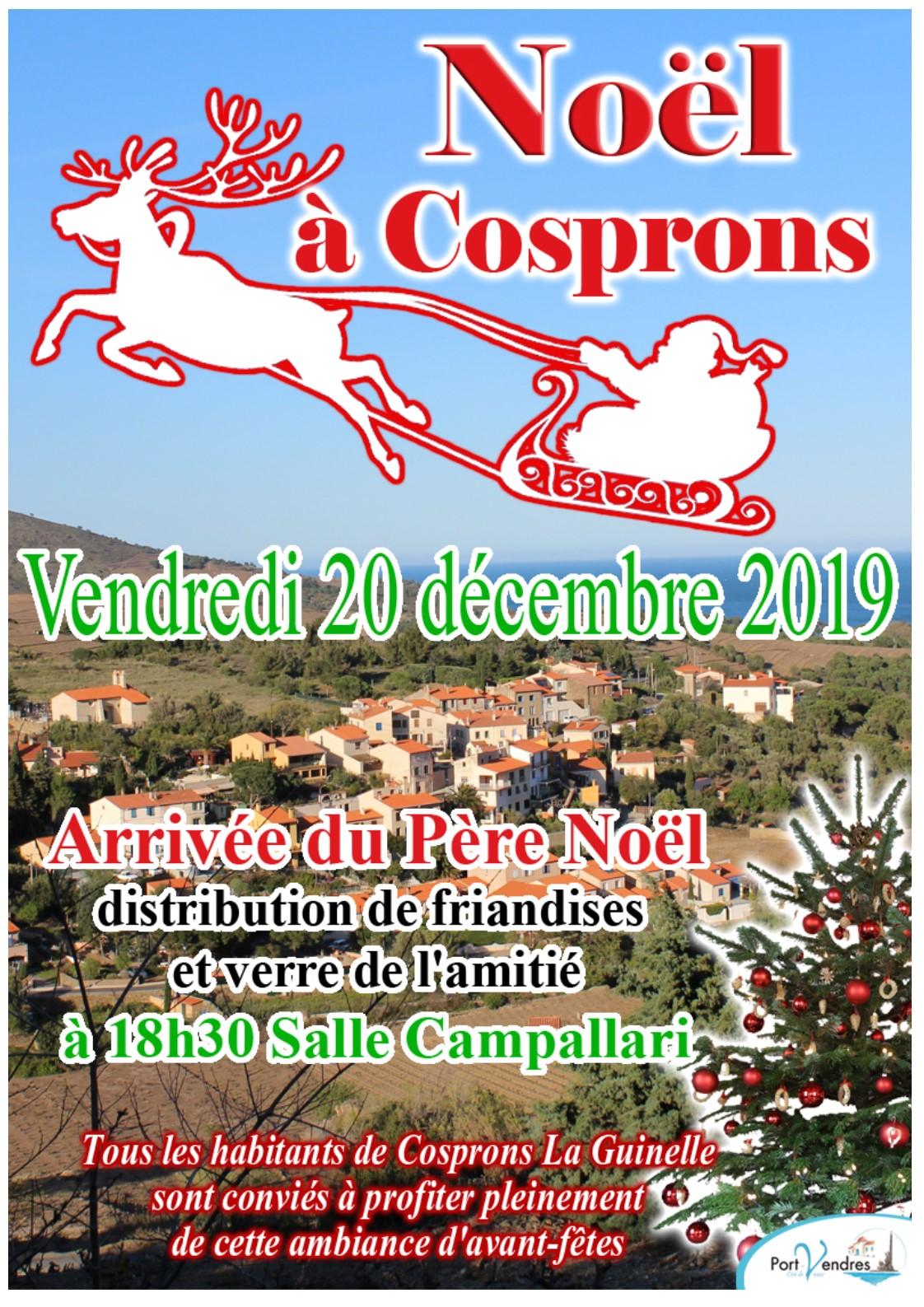2019 Affiche Noël de Cosprons