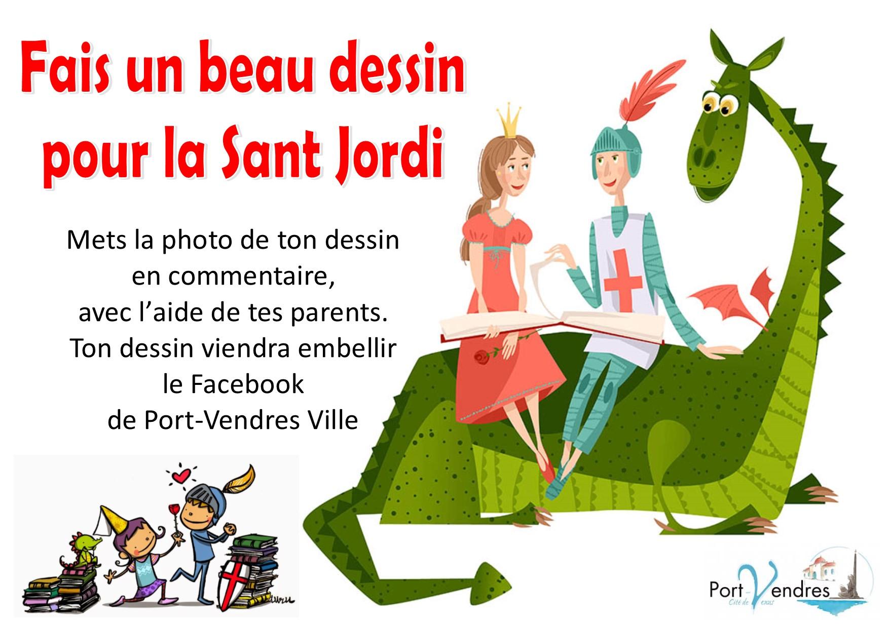 2020 affiche Sant Jordi