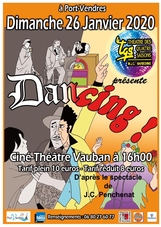 2020 affiche dancing 26 janvier