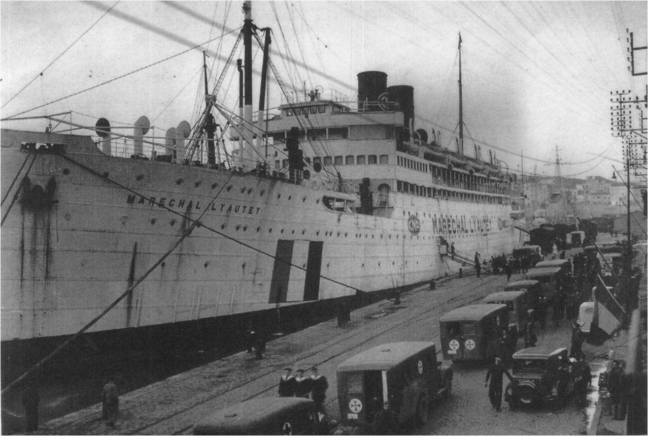 Maréchal Lyautet bateau hôpital