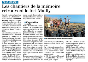 2020 le fort mailly 2020 08 18 LIndépendant