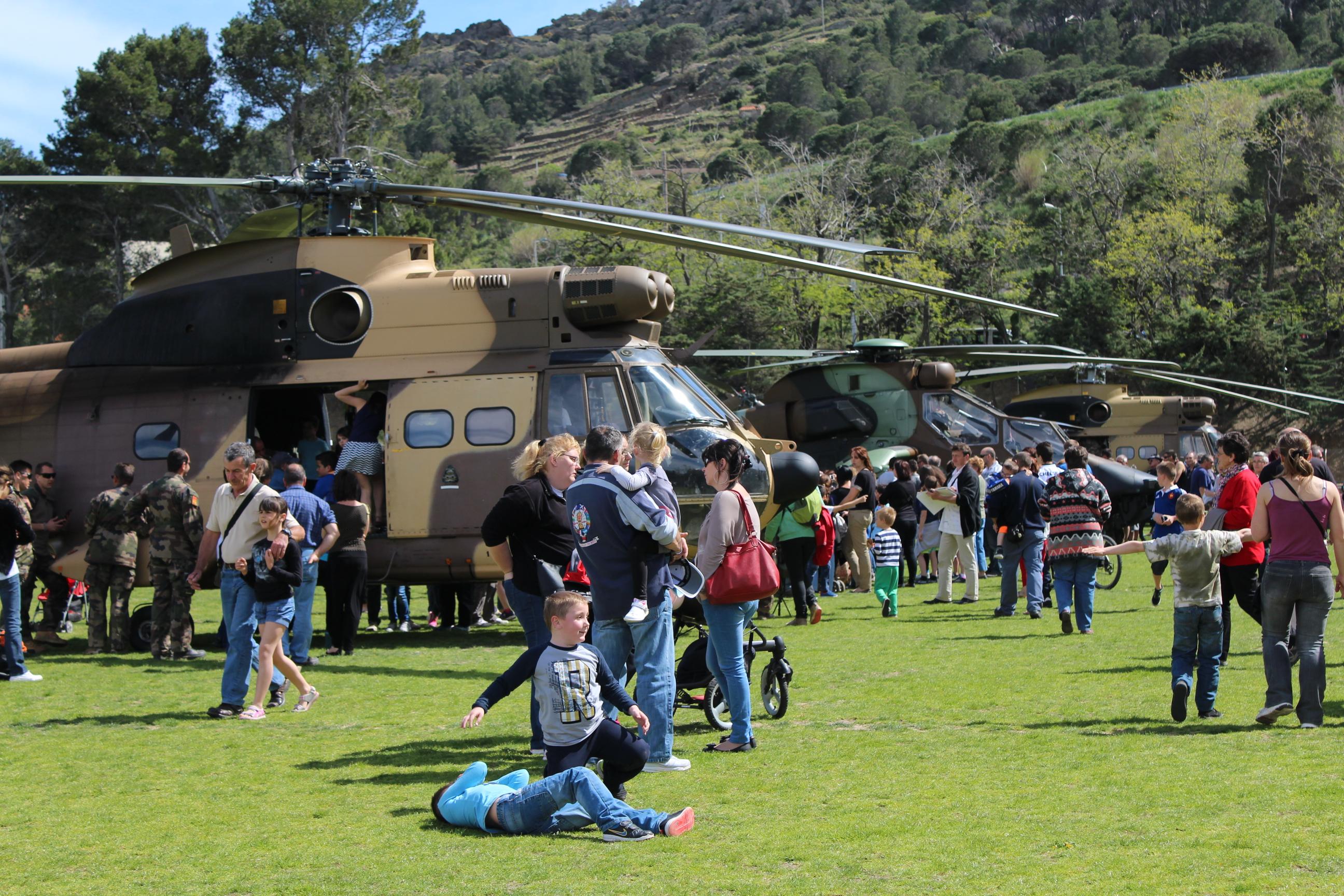les hélicoptères du 5èRHC à Port Vendres 3