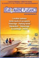 BEAR MARINE PLAISANCE